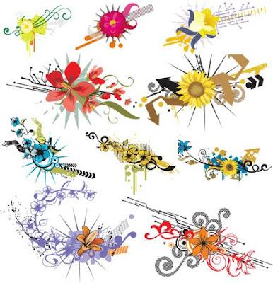 70 FloralDesignVectors