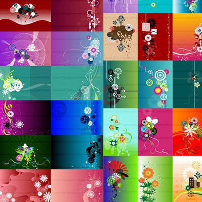2009 Floral Background