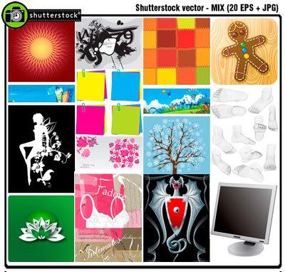Download ShutterStock Vector Mix