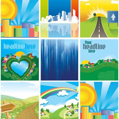 Download Spring And City Vectors