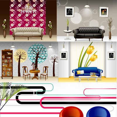 Download Interior & Furniture Vector