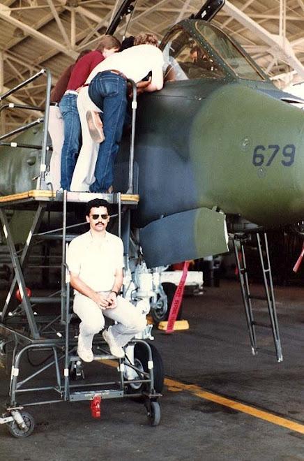 Myrtle Beach Air Force Base, South Carolina, USA 1983