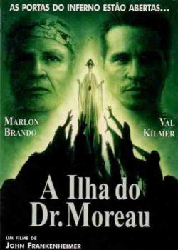 Filme Poster A Ilha Do Dr. Moreau DVDRip XviD & RMVB Dublado