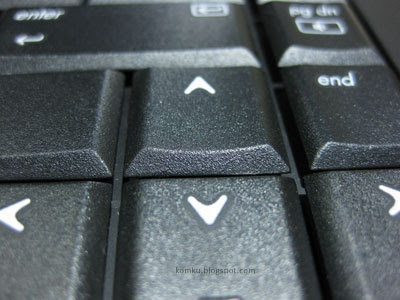 keyboard surface