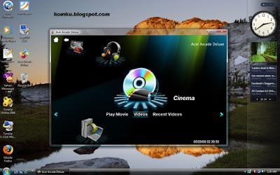Acer Arcade Deluxe in Windows Vista