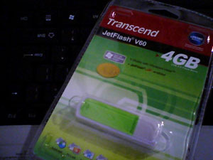 Transcend flash drive