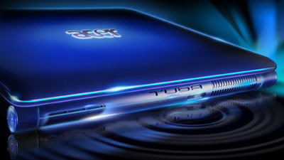 Acer Gemstone Blue Wallpaper Tuba