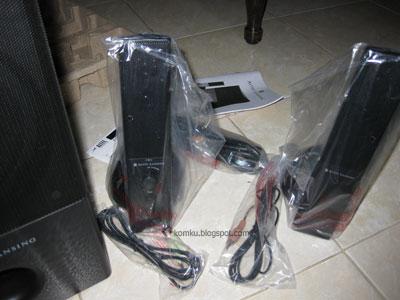 Altec Lansing VS4121 satellite speaker