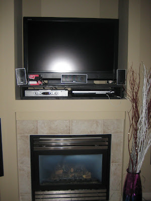 fireplace designs with tv. to put the t.v. in the new