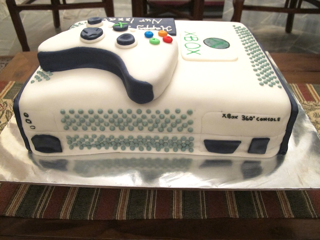 Xbox One Cake Designs : Pink Oven Cakes and Cookies: Xbox cake