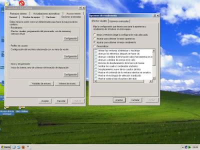 Mejorar rendimiento windows Xp