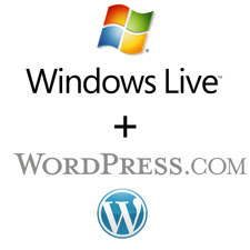 windows live wordpress