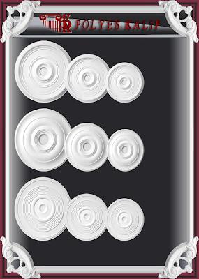 duz kartonp%C4%B1yer2 Alçı kartonpiyer göbek kalıbı polyester  kalıpları