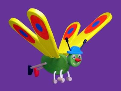 flying zoo toys