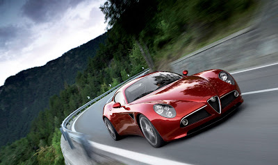 red ferrari car wallpaper keren