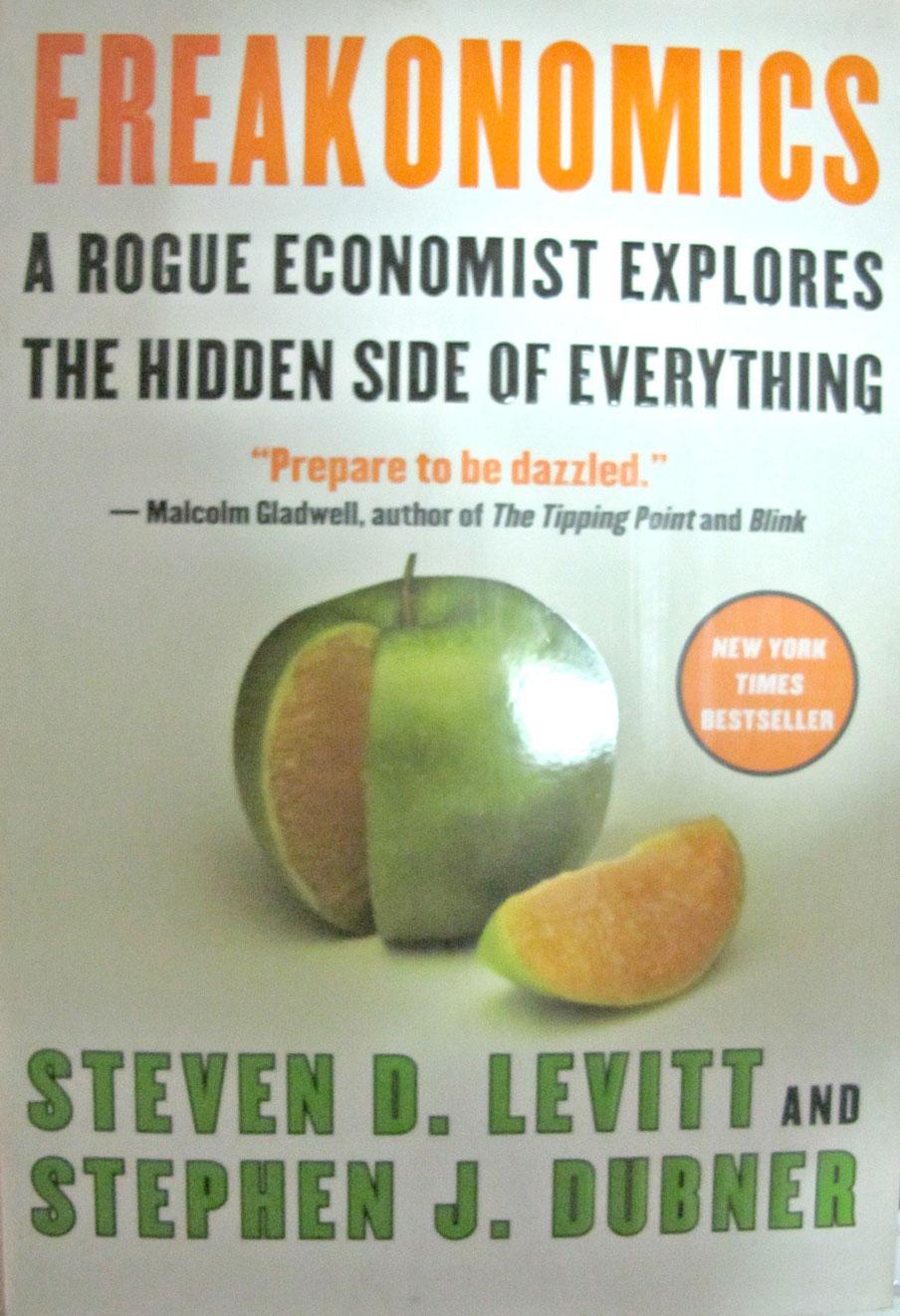 freakonomics rogue economist explores hidden side Required reading: freakonomics : a rogue economist explores the hidden  side of everything cj kirk required reading 2 months ago.
