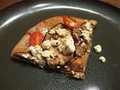 Roasted Eggplant and Hummus Pizza ( Originally from Poor Girl Eats ...