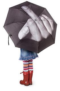 Зонт Лебедева Фак дождю