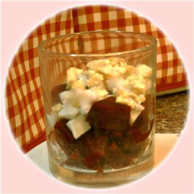 recettes  Velouté dAsperge à la Ciboulette et Petite Garniture Mimosa