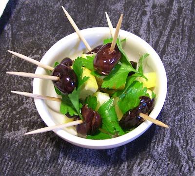 recettes  Sablé aux olives
