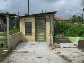 rumah kedai di kg tembioh yang musnah di bawa arus banjir