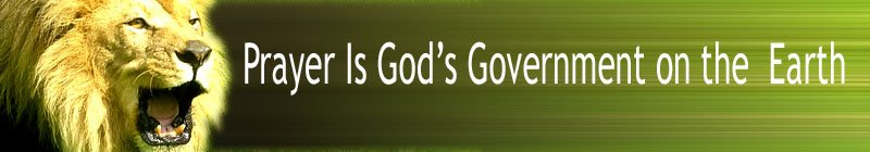 Prayer is God's Gov't
