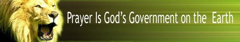 Prayer is God's Gov't