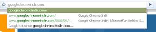 Google Chrome Otomatik Öneriler