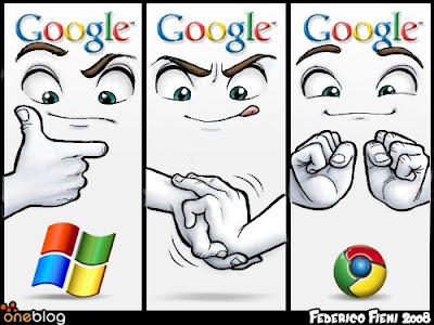 Chrome OS ve Windows Logosu
