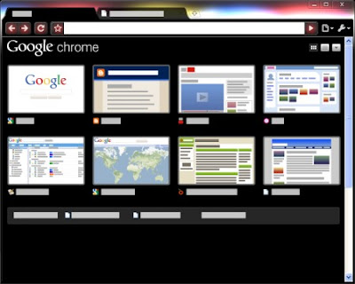 Google Chrome Glow Tema