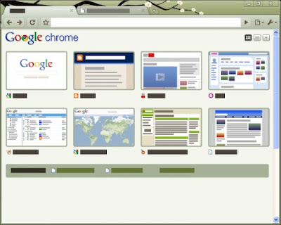 Google Chrome Zen Spring Tema