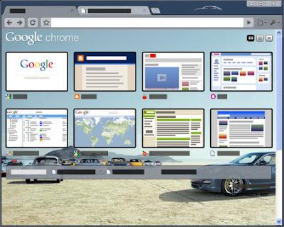 Porsche Teması - GoogleChromeIndir.com