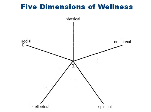 5 Dimensions of Health http://kholistic.com/whats-your-shape-5-dimenstions-of-wellness/