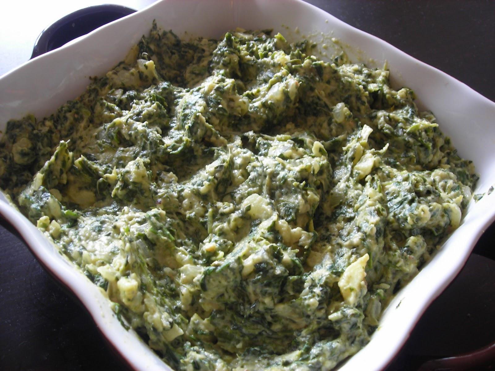 Artichoke-Spinach Dip Recipe — Dishmaps