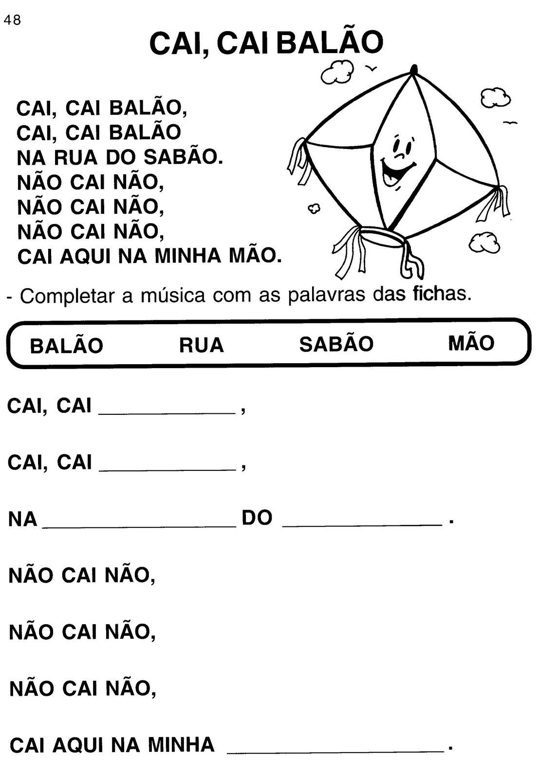 Extremamente www.canal-educar.net: CAI CAI BALÃO FL13