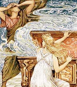 Legenda Kotak Pandora dan Mitologi Yunani