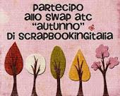 """Swap ATC autunno di """"Scrapbookingitalia"""""""