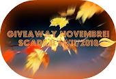 """Giveaway Novembre di... """"sul Filo della Fantasia"""""""