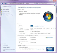 Lenovo ThinkPad R61i Running Windows 7