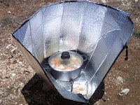 how to make a minimum solar box cooker