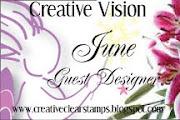 JUNE 2010 GUEST DESIGNER