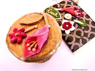 Coach cupcake from Le Petit Brioche