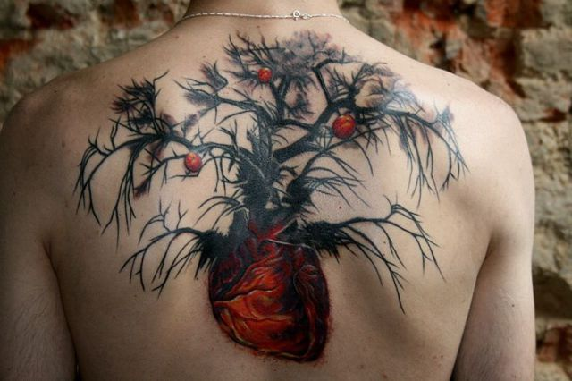 Strange Funny and Beautiful Tattoos 80 pics