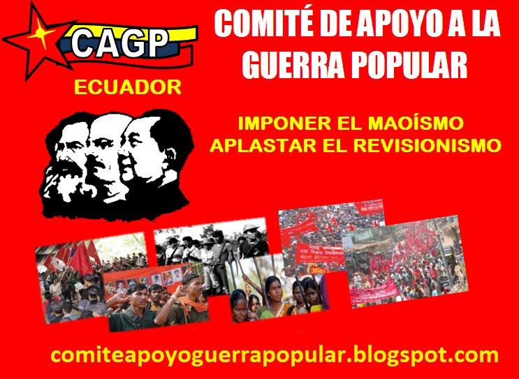COMITÉ DE APOYO A LA GUERRA POPULAR