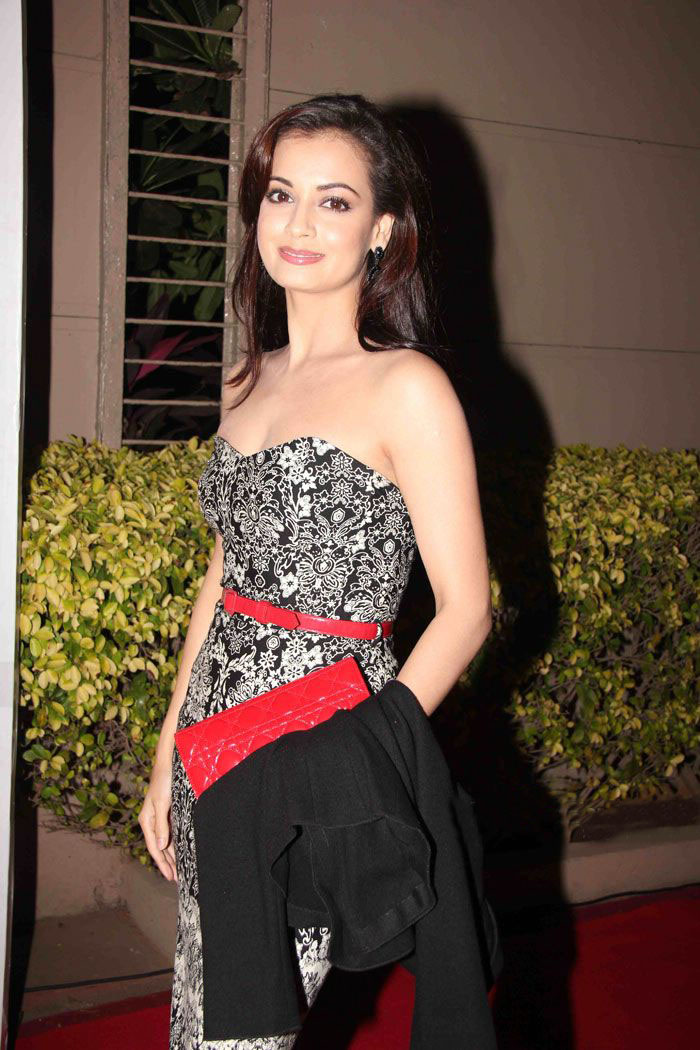 Dia Mirza At Overdrive Awards 2011 - Looking Sexy