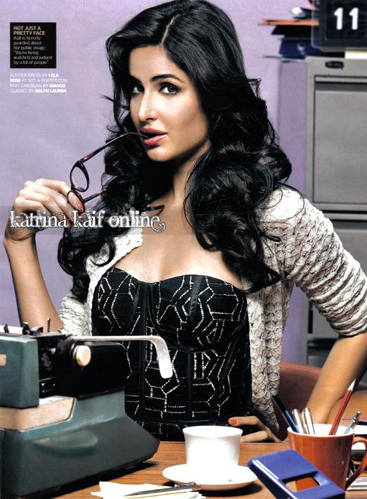 Hot Katrina Kaif GQ Magazine Cover Scans - Feb 2011