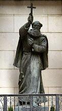Statue des Seligen Markus von Aviano