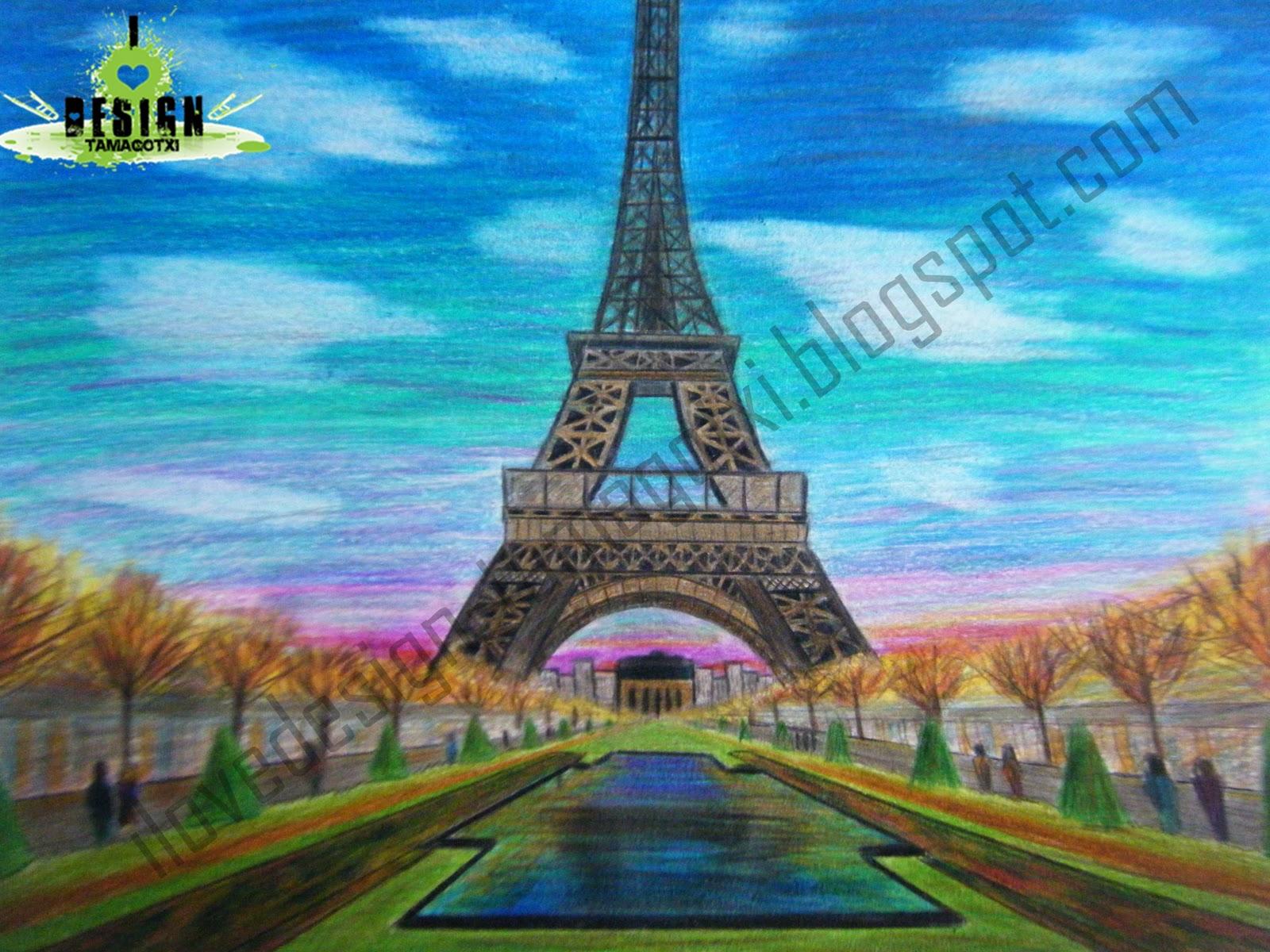 Dibujos de paisajes a color  Imagui