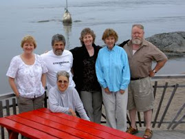 Writers' Group, Rock Island Resort, July 2008,