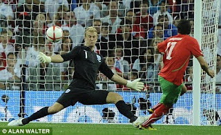 goalkeeper Joe Hart